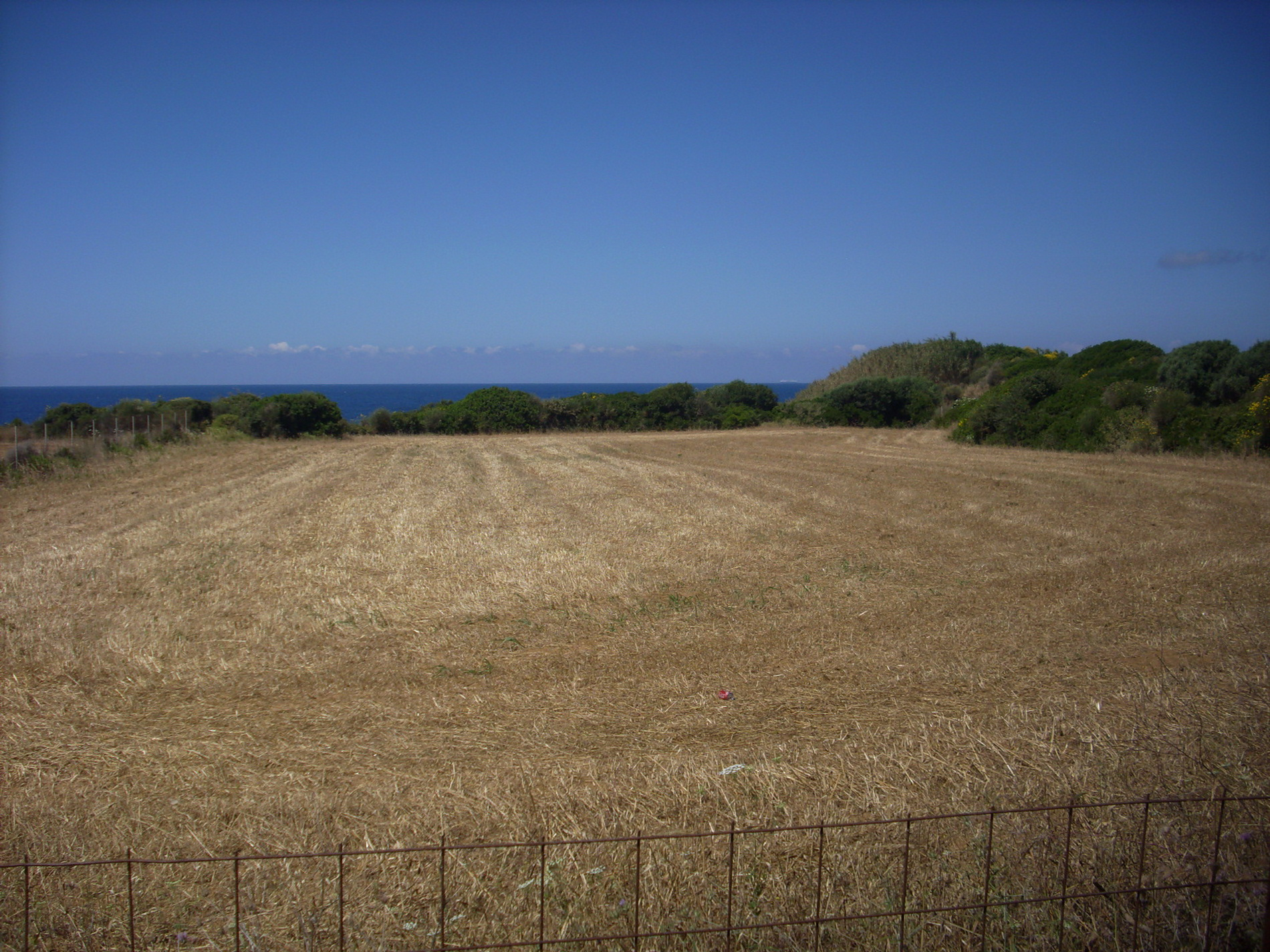 Property for sale overlooking  the Ionian Sea